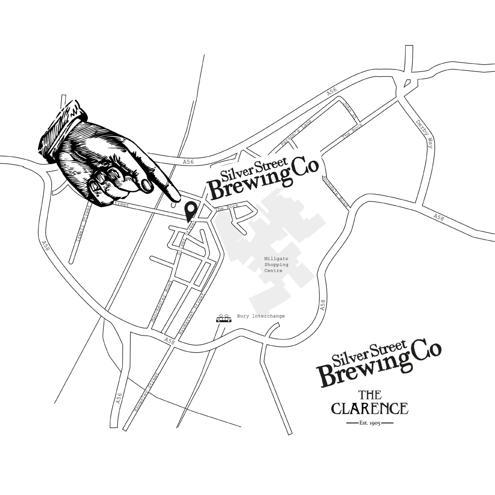 Map of Silver Street