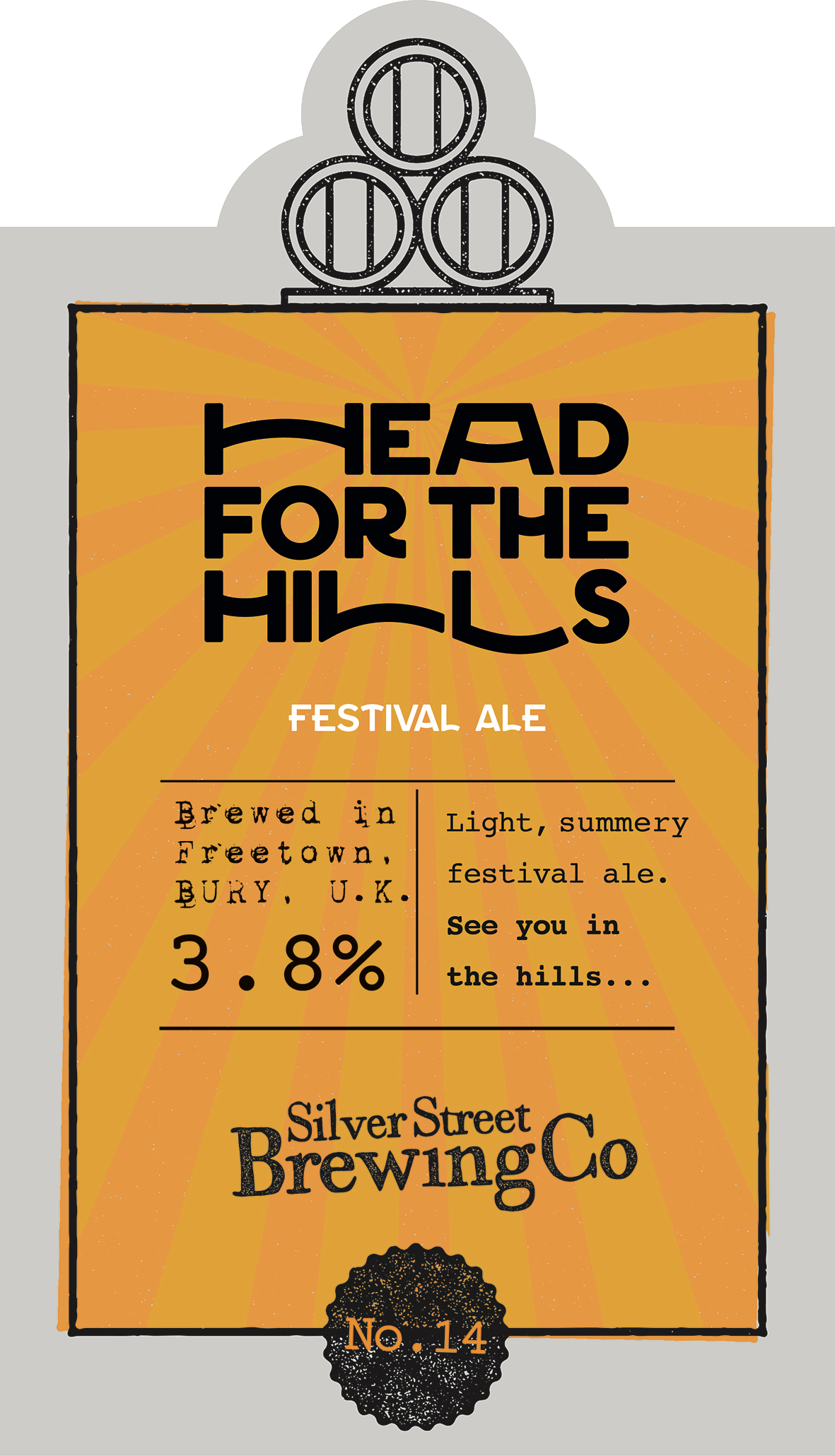 HEAD FOR THE HILLS 3.8%